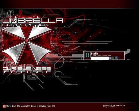 umbrella theme for windows 8 1 umbrella corporation v1 0 0 by grungestyle on deviantart