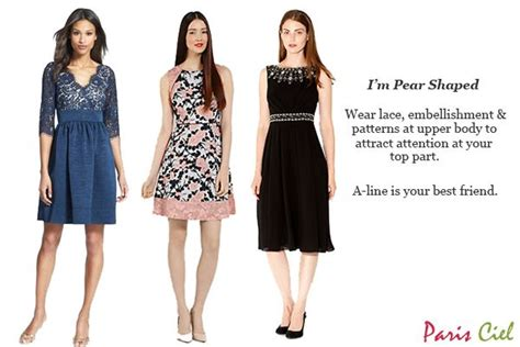 best clothing styles for pear shaped women best wedding guest outfit for your body shape paris ciel