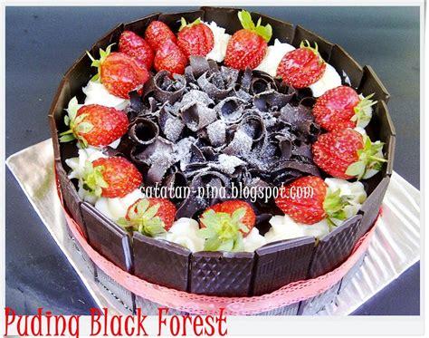 resep cara membuat puding black forest untuk di jual puding blackforest resep kue masakan dan minuman cara