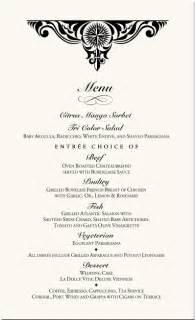 6 fancy menu template procedure template sample
