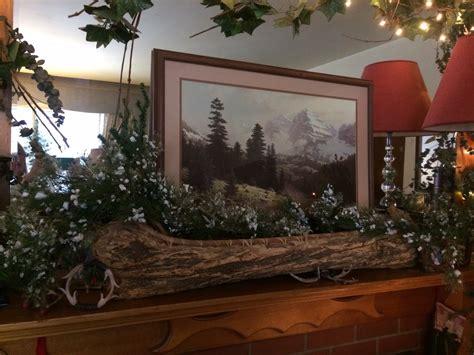 ideas for winter not christmas decor mantel kitchen