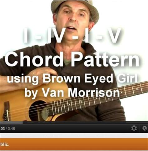 strum pattern to brown eyed girl popular strumming patterns free patterns