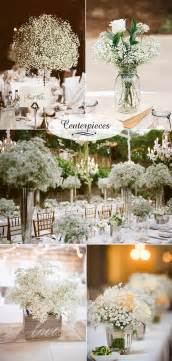 where to sell used wedding decorations wedding flowers 40 ideas to use baby s breath