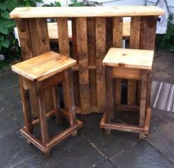 rustic kitchen bar stools diy outdoor pallet bar outdoor