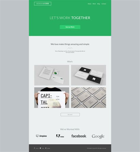 home pages templates layered psd theme free psd vector icons