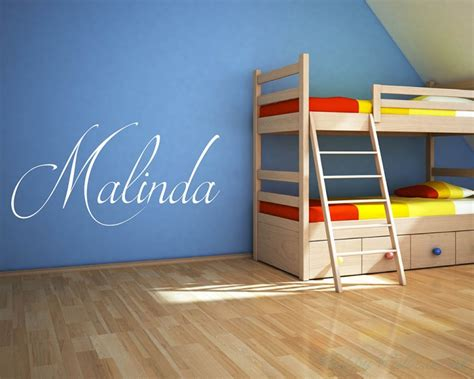 childrens personalised wall stickers personalised childrens name wall decal name