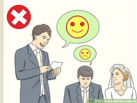 5 Ways to End a Best Man's Speech   wikiHow