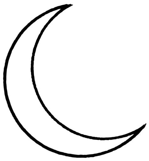 coloring page crescent moon crescent moon coloring sheets coloring page for kids