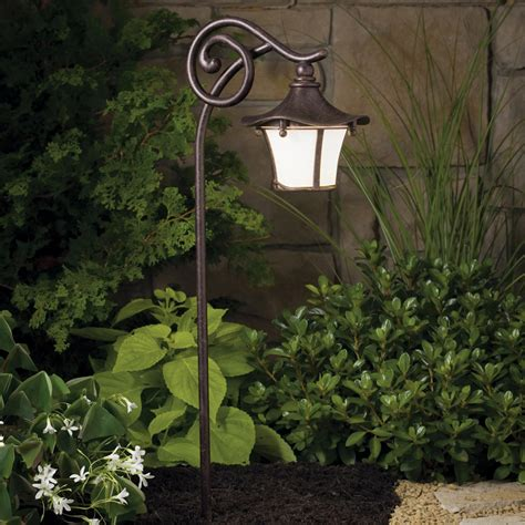Outdoor Path Light Kichler 15420agz Cotswold 12v Landscape Path Spread Light