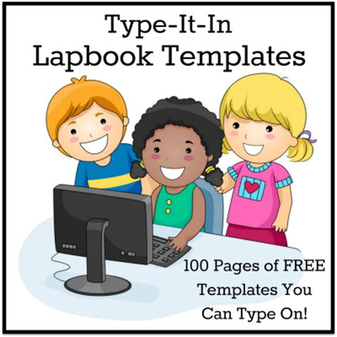lapbook templates you can type on lapbook templates you can type on homeschool