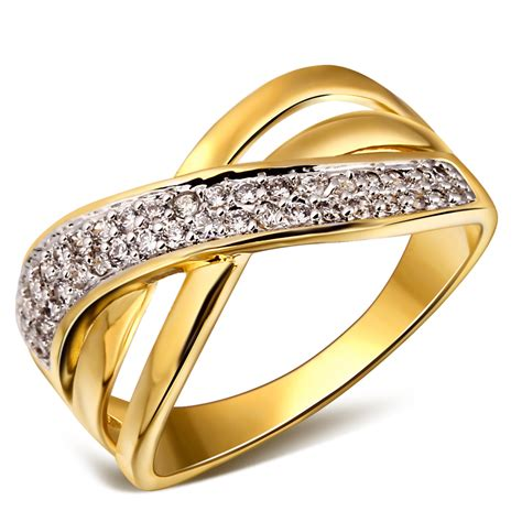 home design trendy wedding rings in gold wedding