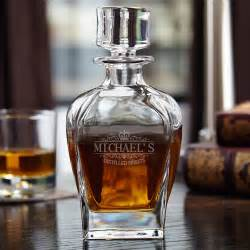 Birthday Gifts Delivered Kensington Personalized Draper Whiskey Decanter
