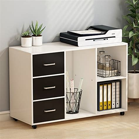 file cabinet with shelves tribesigns 3 drawer wood file cabinets large modern lateral mobile filing cabinets printer