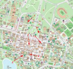 map of stanford