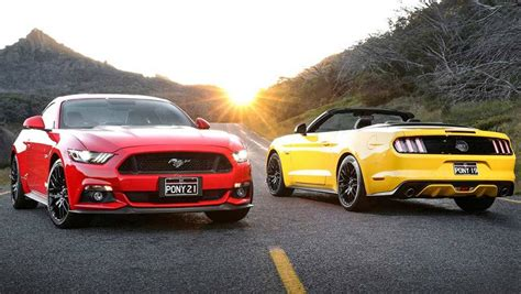 pictures of a mustang 2016 ford mustang v8 gt and ecoboost review