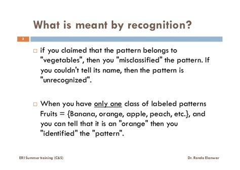Pattern Recognition Explained | what is pattern recognition lecture 1 of 6