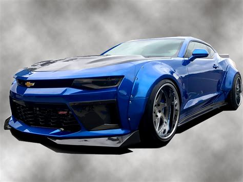 widebody camaro 2016 2018 chevrolet camaro grid wide kit 113304