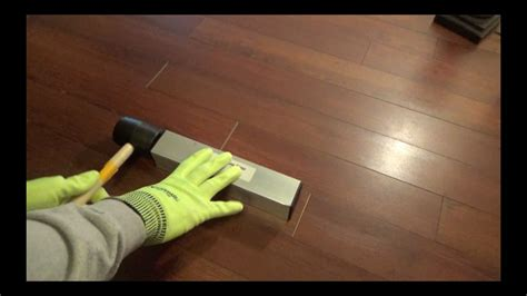 HOW TO CLOSE LAMINATE FLOORING END JOINT GAPS   Floor Gap