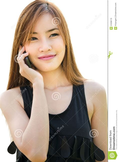 who is the asian girl in the mobile strike commercial teen asian girl using cell phone stock photos image