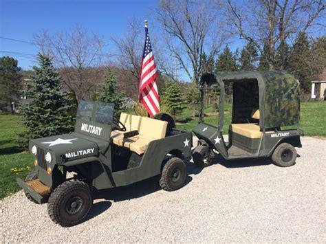 Jeep Golf Cart Ezgo Jeep Golf Cart Chadron Oh 3200 Ewillys
