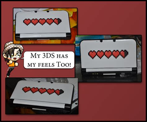 my has skin my 3ds has my feels skin by itsdaninerd on deviantart