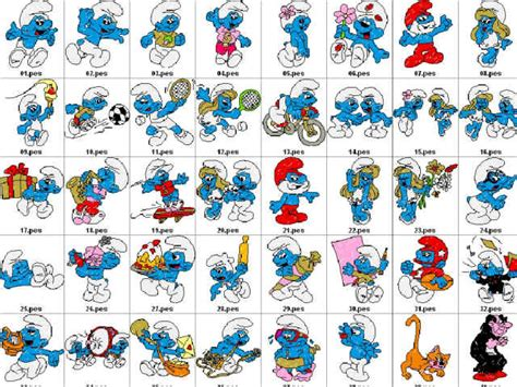 best 28 name of smurf pitufos ideas pinterest facebook