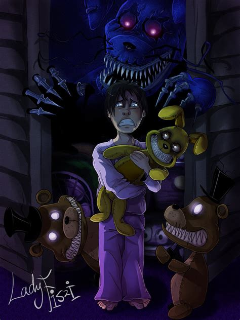 five nights at freddy s fan five nights at freddy s 4 fanart by ladyfiszi on deviantart