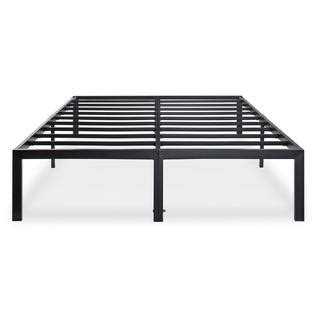metal size bed frame greenhome123 heavy duty metal platform bed frame in size