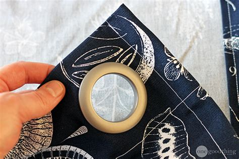 make your own grommet curtains make your own grommet curtains in an afternoon one good