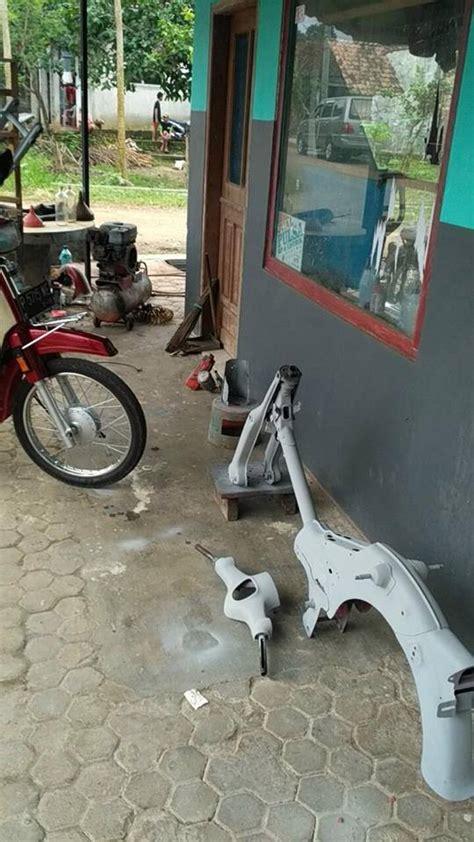 Stiker Motor Honda 70 proses restorasi honda pispot c70 ala juragan stiker