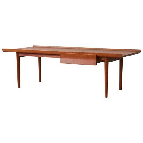 Finn Coffee Table Finn Juhl Niels Vodder Teak Vintage Modern Coffee Table For Sale At 1stdibs