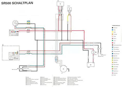 Motorrad Batterie Schaltung by Elektrik Sr 500