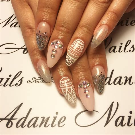 almond nail art designs ideas design trends