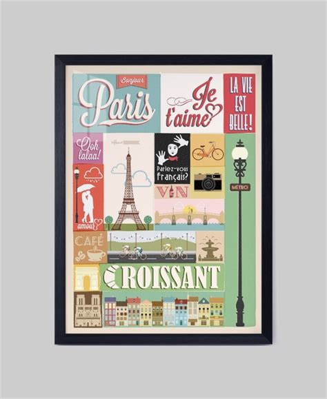 poster wall layout paris london poster design fashionable modern wall picture
