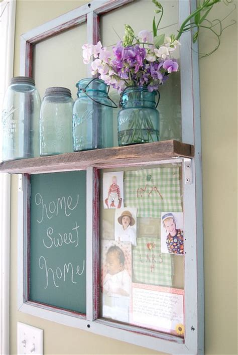 craft ideas with old windows shabby chic decor decorating with old windows rustic