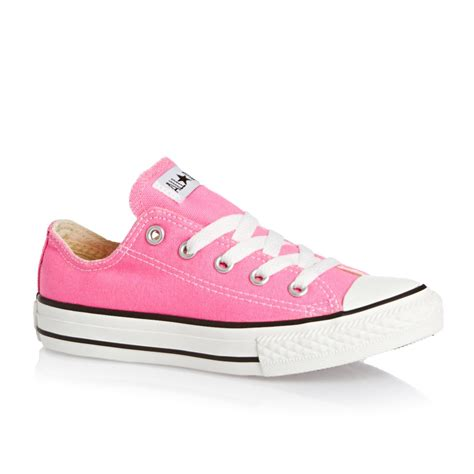 converse all ox shoes pink free uk delivery