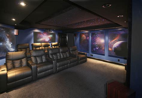 home theater space murals images amazing images of