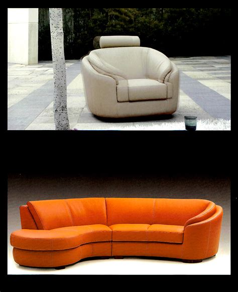 round sectional round modern italian leather sofa m56 leather sectionals