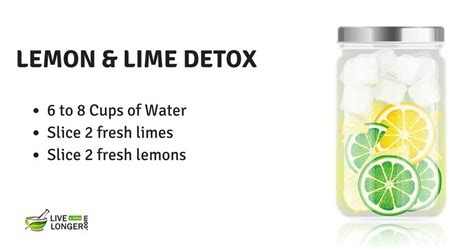 Is Lime As As Lemon For Detox by 21 Best Detox Water Recipes For Weight Loss Cleansing In