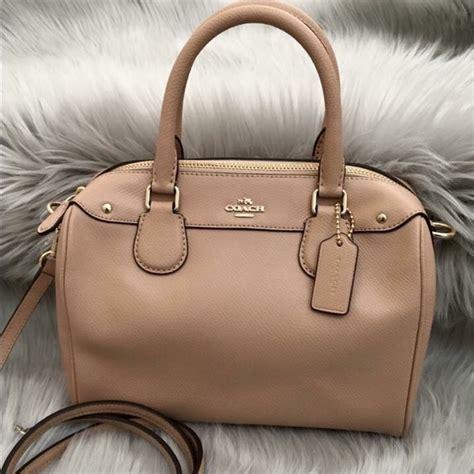 Coach Mini Bennet Mustrad 56 coach handbags nwt coach crossgrain leather mini satchel from tapana s closet