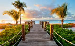 Caribbean wood beach wallpapers pictures photos images