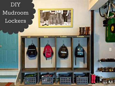 do it yourself diy sports changing rooms diy mudroom lockers garage mudroom makeover