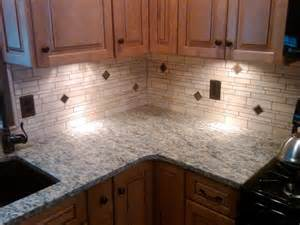 Kitchen Travertine Backsplash by Irregular Light Travertine Backsplash Traditional