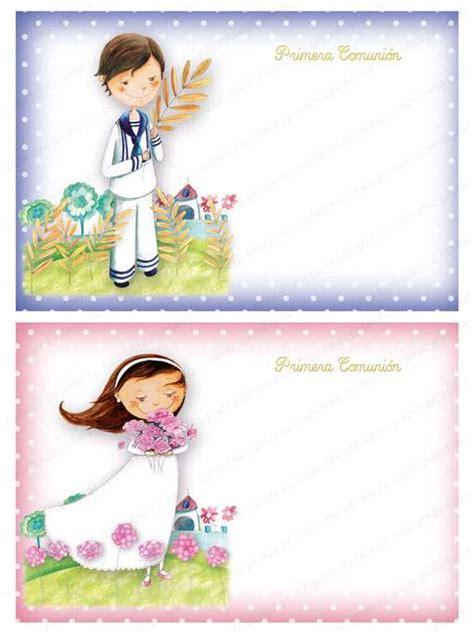 tarjetas de comunion personalizadas para imprimir gratis invitaciones primera comuni 243 n cosas43 detalles y