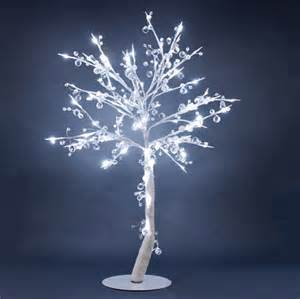 Lighted Tree Hi Line Gift Floral Lights Lighted Crystal Tree With 96