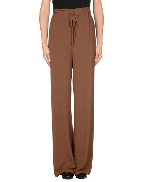 Koas Gucci kaos casual trouser in brown save 48 lyst