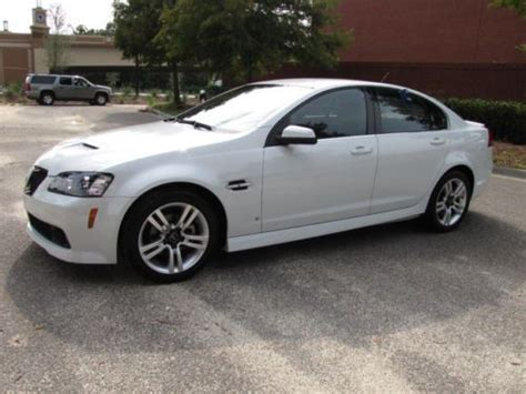 pontiac g8 for sale by owner buy used g8 v6 rwd one owner excellent condition in