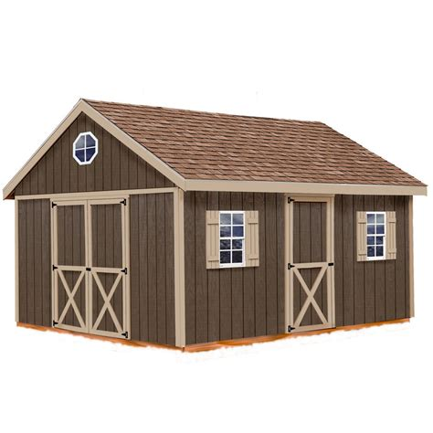 Shed Kit Lowes by Shop Best Barns Easton Without Floor Gable Engineered Wood