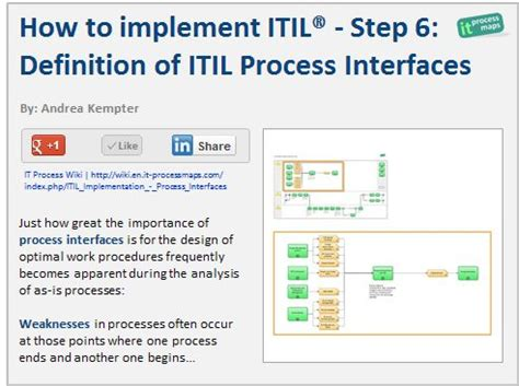 itil implementation plan template how to implement itil step 6 definition of itil