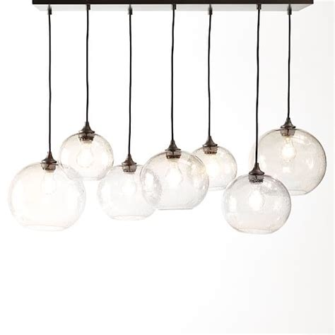 Glass Orb Pendant Light Glass Orb Chandelier Luster West Elm